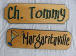 Wood Sign Margaritaville